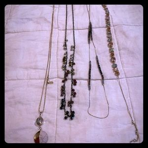 Mixed Lot of 6 Necklaces - Loft